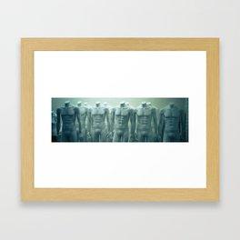 bodies Framed Art Print
