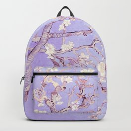Vincent Van Gogh Almond Blossoms  Lavender Backpack