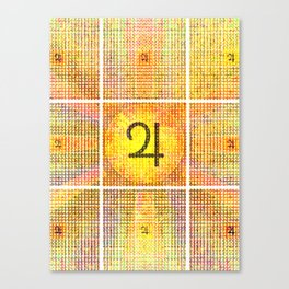 Guru/Surya (Jupiter Sun) Invocation Canvas Print