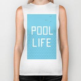 Pool Life Swimmer Biker Tank