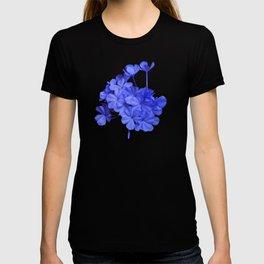 Intensely Blue Flowers T-shirt