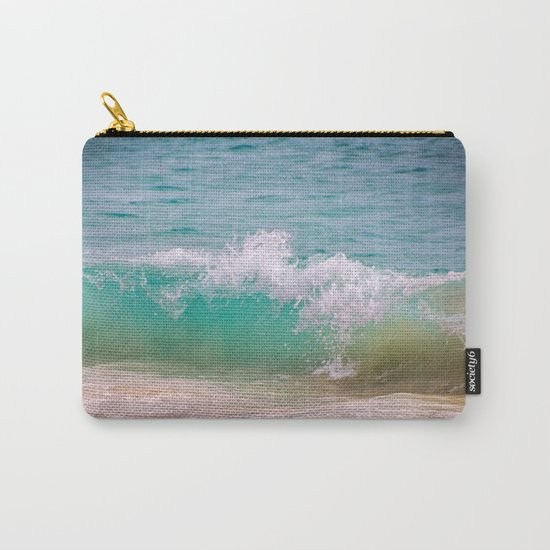 Caribbean Wave Carry-All Pouch