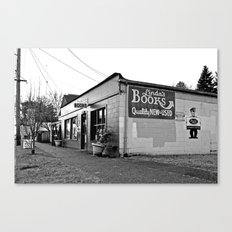 Park Ave Books Canvas Print