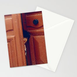Girl in a Doorway Stationery Cards