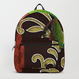 LIME BEETLE Backpack