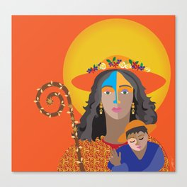 Divina Pastora . Venezuela Canvas Print