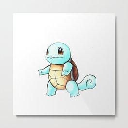 Pokémon - Squirtle Metal Print