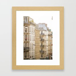 Montmartre, Paris, France Framed Art Print