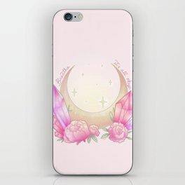 Breathe. it's all okay iPhone Skin