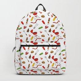 Grilling - BBQ Doodle Pattern Backpack