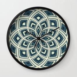 Spiral Rose Pattern E 4/4 Wall Clock