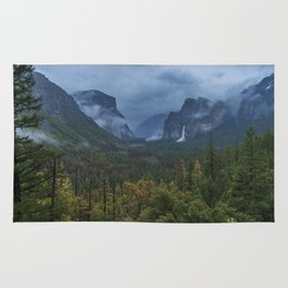 Yosemite Tunnel View Rug