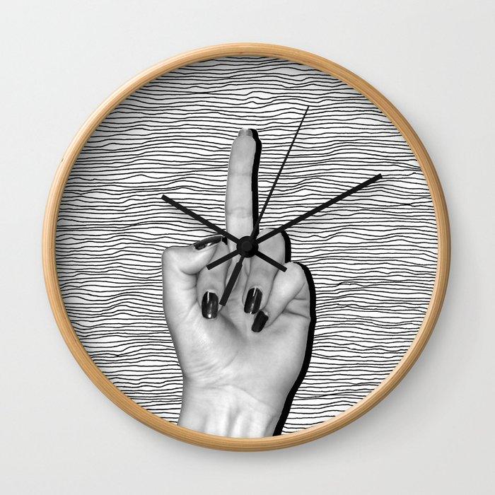 Revenge, relief, rebirth. Wall Clock