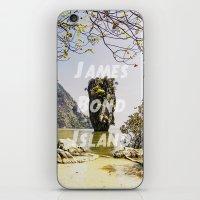 james bond iPhone & iPod Skins featuring James Bond Island (vintage) by Armine Nersisian