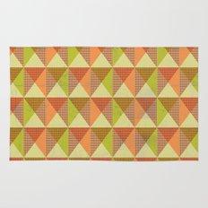 Triangle Diamond Grid Rug