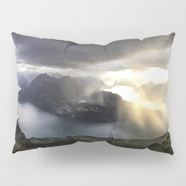 before the sunset and thunderstorm arrive. Pillow Sham
