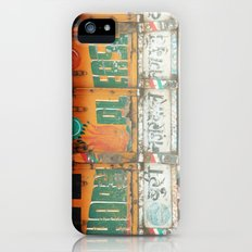 horn please! india truck sign iPhone (5, 5s) Slim Case