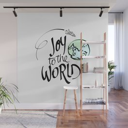 Joy to the World Wall Mural