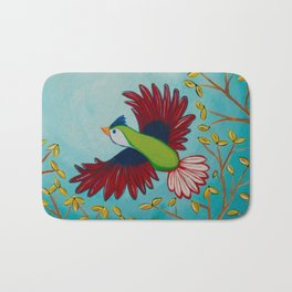 Kelly Bird Bath Mat