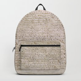 The Magna Carta 0f 1215 Backpack