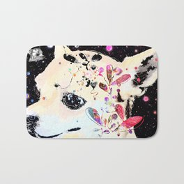 Stardust * When will I join you? Bath Mat