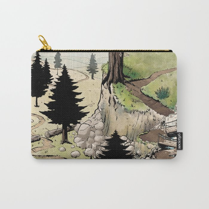 Just a Little Walk in the Woods - BASHers Carry-All Pouch