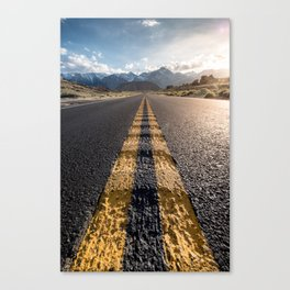 California Roadtrip Canvas Print