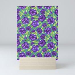 Petunia Night Sky (1) Mini Art Print