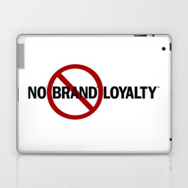 No Brand Loyalty Laptop & iPad Skin