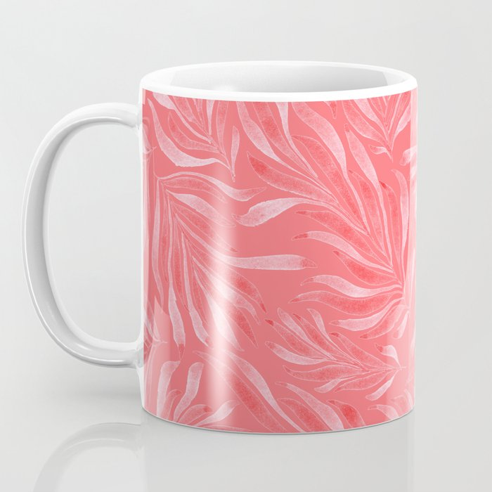 Pink Foliage II Coffee Mug
