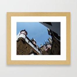 Burg Eltz Courtyard Framed Art Print