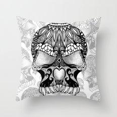 Sugar Skull.  Throw Pillow