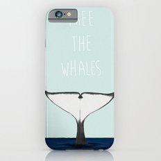 FREE THE WHALES iPhone 6s Slim Case