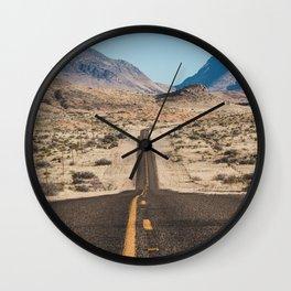 High Desert Highway Wall Clock