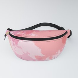 Pink Skies Abstract Fanny Pack