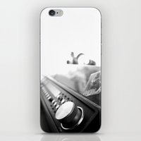 acdc iPhone & iPod Skins featuring Record player by Deliratio
