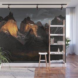 Patagonia mountains Wall Mural