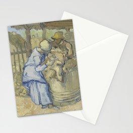 Vincent van Gogh - The Sheepshearer (after Millet) Stationery Cards