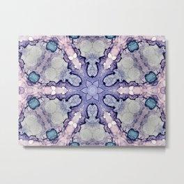 Purple Mirror 1 Metal Print