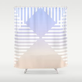 striped nuance Shower Curtain