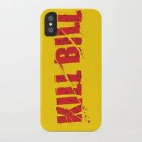 bill iPhone & iPod Cases featuring Kill Bill by Osman SARGIN
