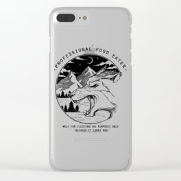 Professional Food Eater Clear iPhone Case