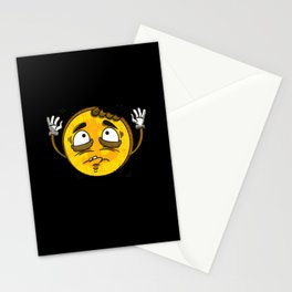 Bitcoin Cryptocurrency Funny Vintage Cartoon Coin Stationery Cards