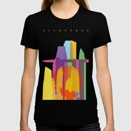 Shapes of Singapore. T-shirt