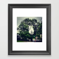Weather the Storm Framed Art Print