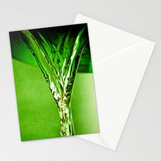 Green Water  Stationery Cards