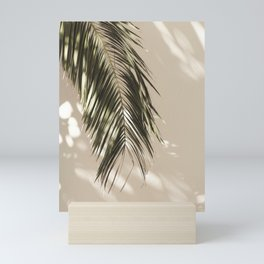 Palm Leaf Shadow Summer Mini Art Print