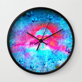 titliya inthe desert Wall Clock