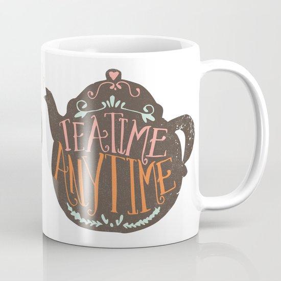 TEA TIME. ANY TIME. - color Mug