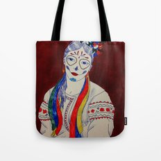 Skullcandy Ethnic Lady Tote Bag